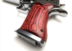 Wood Grip DESERT EAGLE.50AE(Smooth / Red)