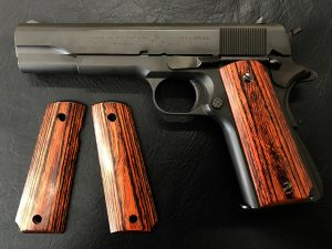 Wood Grip Government / 45 AUTO (Smooth / Brown) [AWG-400]