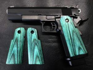 Wood Grip Hi-CAPA 5.1 / 4.3 (Smooth / Green) [AWG-420]