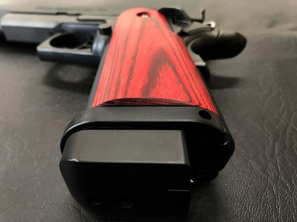 Wood Grip Hi-CAPA 5.1 / 4.3 [Smooth / Red]