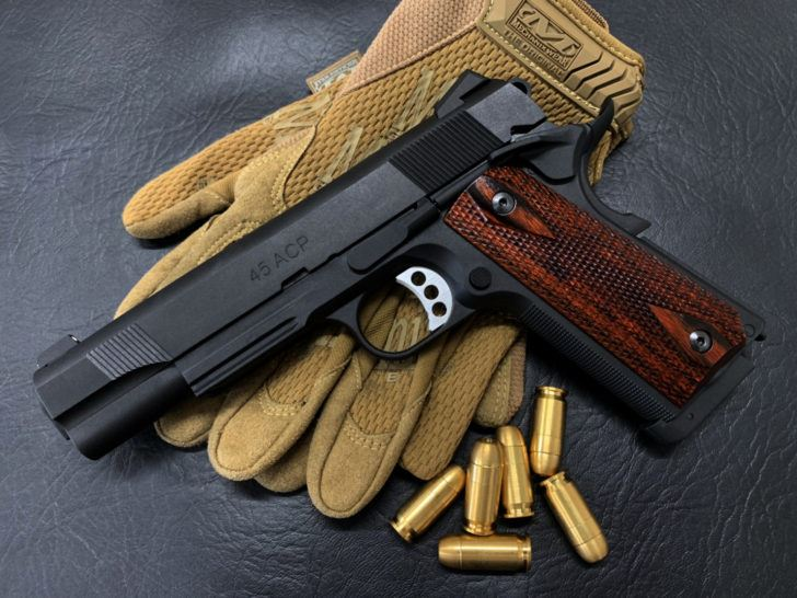 Wood Grip M45CQP